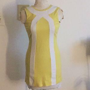 Dresses & Skirts - Trina Turk Yellow Mod Dress